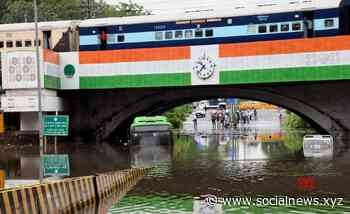 New Delhi: Water – logged Minto Bridge after rains #Gallery - Social News XYZ