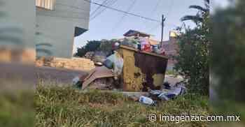 Piden dar buen uso a contenedores de basura en Jalpa - Imagen de Zacatecas, el periódico de los zacatecanos