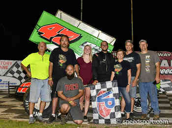It's Adam Carberry's Day In Grandview Sprint - SPEED SPORT