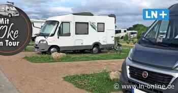 Campingtest an der Ostsee: Das bietet der Wohnmobil-Stellplatz Heiligenhafen - Lübecker Nachrichten