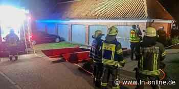 Mülltonnen brennen in Heiligenhafen – LN - Lübecker Nachrichten - Lübecker Nachrichten