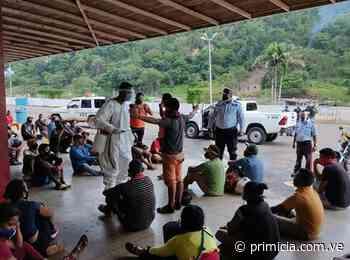 200 personas y 60 vehículos retenidos en El Callao por incumplir cuarentena - primicia.com.ve