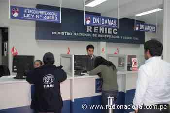 Desde lunes 20 Reniec vuelve a atender en el Callao y San Juan de Lurigancho - Radio Nacional del Perú