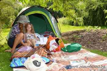 Heel de zomer onenightstand in hartje arboretum, met maximaal veertig kampeerders per keer