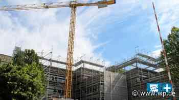 Olsberg: Abrissarbeiten am Berufskolleg - Westfalenpost