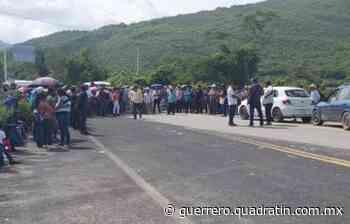 Cierran pobladores de Tixtla la carretera Chilpancingo-Chilapa - Quadratin Guerrero