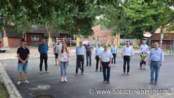 Vereine freuen sich über schicken Pilgerhof-Platz - Soester Anzeiger
