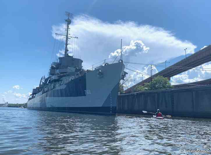 USS Slater Albany Waterfront Paddle