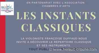SETE - Les instants classiques sur l'Ile de Thau le mercredi 22 juillet 2020 - Hérault-Tribune