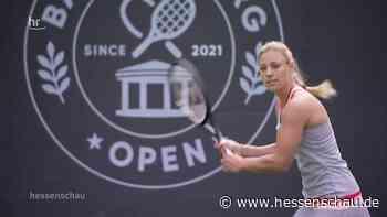 Video: Kerber eröffnet Center Court in Bad Homburg | hessenschau.de | TV-Sendung - hessenschau.de