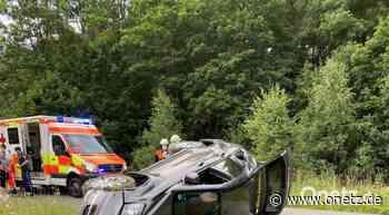 Wegen Reh: Auto überschlagt sich bei Schnaittenbach - Onetz.de