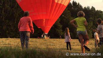 Heißluftballon erreicht bei Neuenrade die Erde - come-on.de