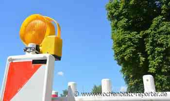 Landesstraße L 399: Vollsperrung bei Rothenkircherhof verlängert sich - Wochenblatt-Reporter