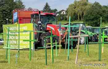 Landwirte demonstrieren mit 300 Traktoren für andere Agrarpolitik - Prien am Chiemsee - Passauer Neue Presse