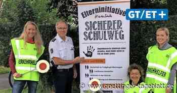 Verkehrshelfer in Bovenden sorgen für sicheren Schulweg - Göttinger Tageblatt
