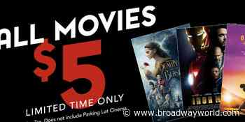 Valley Grand Cinema Re-Opens With $5 Movies - Broadway World