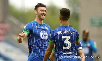 QPR see £2.1m bid for striker Kieffer Moore accepted by cash-strapped Wigan