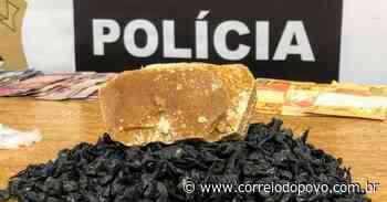 Polícia Civil apreende farta quantidade de crack em Sapucaia do Sul - Jornal Correio do Povo