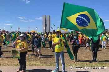 Novamente em Brasilia marcha em apoio ao presidente Bolsonaro - JM1 Jornal das Montanhas | Notícias Manhuaçu Minas Gerais - Jornal das Montanhas