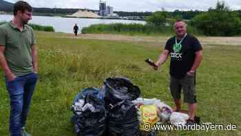 Pächter will Müllproblem am Bögl-Baggersee anpacken - Nordbayern.de