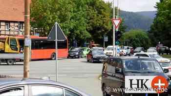 Bauarbeiten und Unfall verursachen Verkehrs-Chaos in Herzberg - HarzKurier