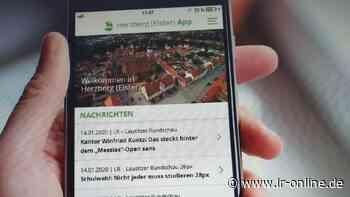 Digitalisierung: Herzberg-App kommt im November - Lausitzer Rundschau