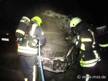 Feuerwehr: Mehrere gelegte Brände in Eberswalde - Märkische Onlinezeitung