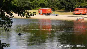 Einsatz am Strandbad Rodenbach: Kind verschwunden – Hubschrauber und Hunde im Einsatz - op-online.de