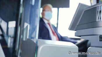 Sailauf/Bayern: Streit um Corona-Maske: Busfahrer hindert jungen Mann am Einsteigen - der schlägt zu - Merkur.de