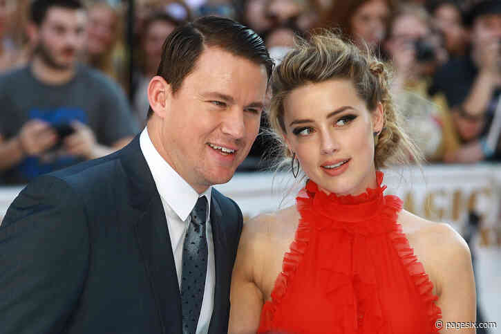 Johnny Depp accused Amber Heard of cheating on him with Channing Tatum, Leonardo DiCaprio - Page Six