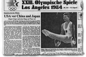 Jürgen Geiger turnt bei Olympia 1984 zur Goldmedaille des kleinen Mannes - Turnen - Badische Zeitung