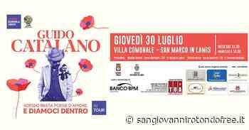 Guido Catalano a San Marco In Lamis - San Giovanni Rotondo Free