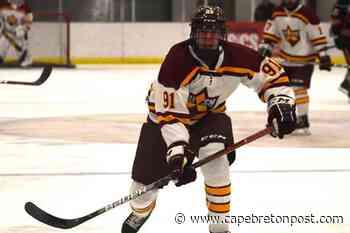 Sydney's Drew MacIntyre selected by Shawinigan Cataractes at QMJHL Entry Draft - Cape Breton Post