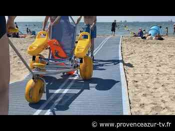 Fos-sur-Mer : Un bain de mer pour tous grâce au tiralo | PROVENCE AZUR - PROVENCE AZUR