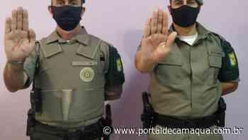 Brigada Militar de Cachoeira do Sul adere à Campanha Sinal Vermelho contra a Violência Doméstica - Portal de Camaquã
