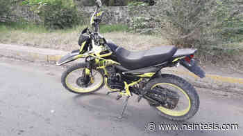 Detenidos dos en posesión de motocicleta robada en Apatzingan - Nsintesis