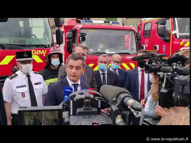 Le ministre de l'Intérieur vient soutenir les pompiers à Etampes - Le Républicain de l'Essonne