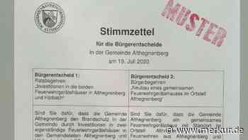 Bürgerentscheid - Bürger votieren für ein gemeinsames Feuerwehrhaus in Althegnenberg - Merkur.de