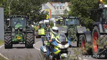Polizei entsetzt über Treckerkonvoi auf A 31 bei Bunde - noz.de - Neue Osnabrücker Zeitung