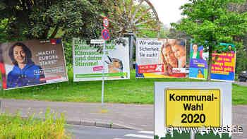 Oer-Erkenschwick: Partei will mehr Wahlplakate aufstellen - 24VEST