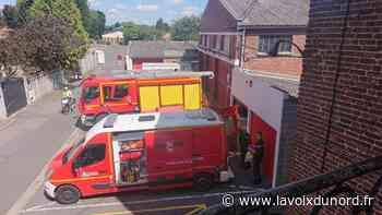 Wingles : le centre d'incendie et de secours en travaux jusqu'en novembre - La Voix du Nord