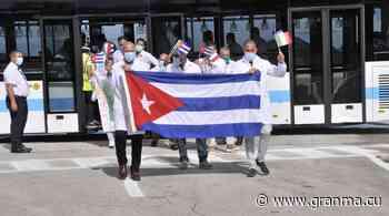 En Cuba, Brigada Henry Reeve que laboró en Piamonte, Italia - Diario Granma