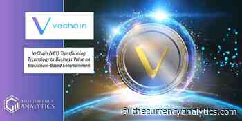 VeChain (VET) Transforming Technology to Business Value on Blockchain-Based Entertainment - The Cryptocurrency Analytics