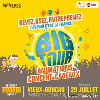 Big Tour mercredi 29 juillet 2020 - Unidivers