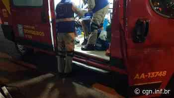 Ciclista fica ferido em acidente na Avenida Papagaios - CGN