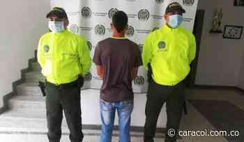 Capturan en Villamaría al presunto agresor en un hecho ocurrido en el 2017 - Caracol Radio