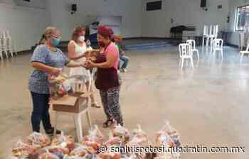 Continúa en Tamazunchale entrega de apoyos alimenticios - Noticias de San Luis Potosí - Quadratín San Luis