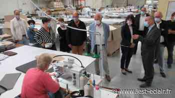 Vie municipale : Le député Gérard Menuel en visite à Nogent-sur-Seine - L'Est Eclair