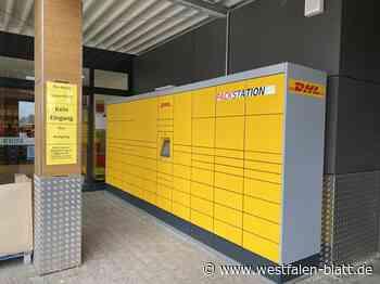 Harsewinkel: Neue Packstation am Rewe-Markt - Westfalen-Blatt