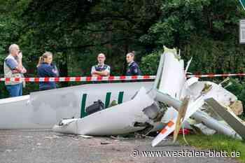 Polizei schließt Zusammenstoß nicht aus: Zwei Tote bei Absturz zweier Segelflieger - Westfalen-Blatt